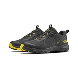 The North Face Mens Ultra Fastpack III Goretex Waterproof Hiking Shoes - Drkshdwgry/Acidyll