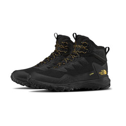 The North Face Ultra Fastpack III Mid GTX Mens Hiking Shoes - TNF Black/Amber