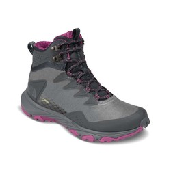 The North Face Womens Ultra Fastpack III Mid GTX Waterproof Hiking Boots - Dark Shadow Grey/Wild Astr Purple