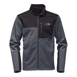 The North Face Mens Apex Risor Softshell Jacket - TNF Medium Grey Heather/TNF Dark Grey Heather
