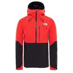 The North Face Mens Apex Flex GTX 2.0 Lightweight Waterproof Jacket - High Risk Red/TNF Black