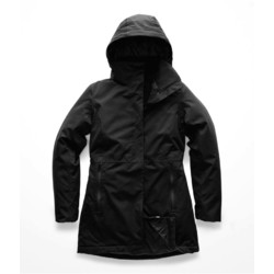 The North Face Womens Insulated Ancha Parka II Waterproof Jacket - Tnf Black