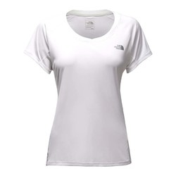 The North Face Womens Ambition Short Sleeve Running Shirt - TNF White