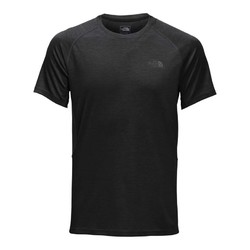 The North Face Mens Ambition Short Sleeve Running Tee - TNF Black Heather