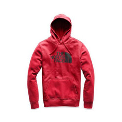 497ad1d94ada The North Face Half Dome Pullover Mens Hoodie - TNF Red TNF Black