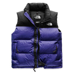 The North Face 1996 Retro Nuptse Womens Vest - Aztec Blue