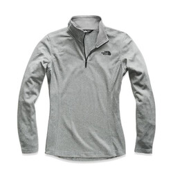The North Face Tech Mezzaluna 1/4 Zip Womens Jacket - Tnf Medium Grey Heather