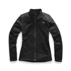 The North Face Tech Mezzaluna Full Zip Womens Jacket - Tnf Black