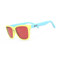 Goodr Pineapple Painkillers Sunglasses - Yellow