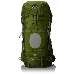 Osprey Aether 70L Mens Hiking Rucksack Backpack - Bonsai Green