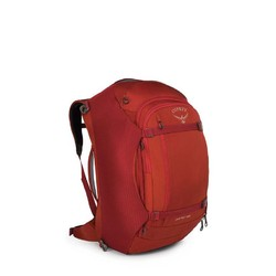 Osprey Porter 65L Lightweight Travel Backpack - Hoodoo Red