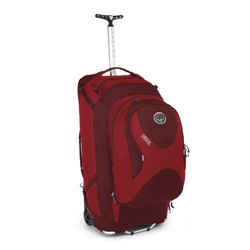 Osprey Ozone 75L Ultralight Wheeled Travel Backpack & Daypack - Red
