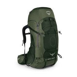 Osprey Aether AG 85L Mens Hiking Backpack - Adirondack Green