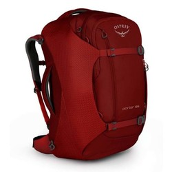 Osprey Porter 65L Lightweight Travel Backpack - Diablo Red