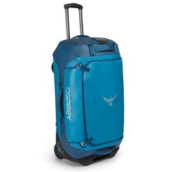 Osprey Transporter Wheeled Duffel 90L Rolling Luggage - Kingfisher Blue