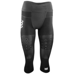 Compressport Trail Running Pirate 3/4 Womens Compression Pants - Black