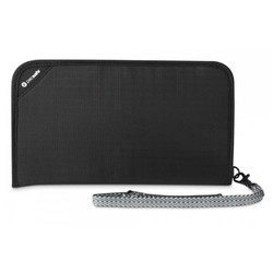 Pacsafe RFIDSAFE V200 Anti-theft Travel wallet - Black