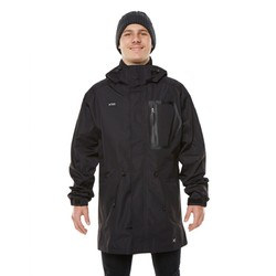 XTM Tully 3/4 Mens Waterproof Jacket - Black