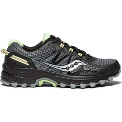 Saucony Excursion TR11 Womens Trail Running Shoes - Black/Lime