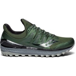 Saucony Xodus ISO 3 Mens Trail Running Shoes - Olive/Black
