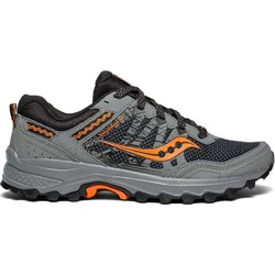 Saucony Excursion TR12 Mens Trail Running Shoes - Grey/Orange/Grey
