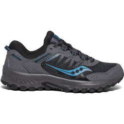 Saucony Versafoam Excursion TR13 Mens Trail Running Shoes  - Charcoal/Blue