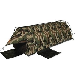 Sahara Explorer King Single Freestanding Dome Canvas Swag - Camo