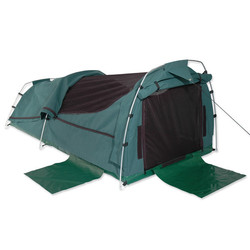 Sahara Nomad Double Dome Canvas Swag & Bag - Green
