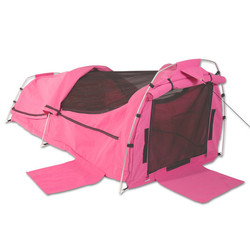 Sahara Nomad King Single Dome Canvas Swag & Bag - Pink