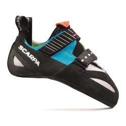 Scarpa Boostic Rock Climbing Shoes- Cyan