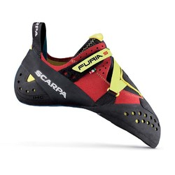 Scarpa Furia S Performance Rock Climbing Shoes - Parrot/Yellow