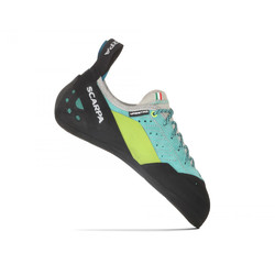 Scarpa Maestro Eco Womens Climbing Shoes - Green-Blue