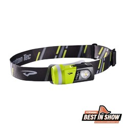 Princeton Tec Snap Muti-Use Light Head Lamp- Grey/Green