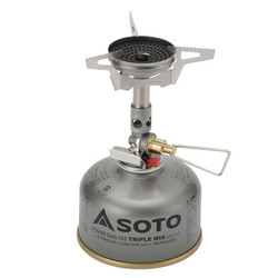 SOTO Windmaster w/ Micro Gas Regulator Hiking Stove