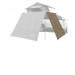 Darche Eclipse EZY Awning Side Extension - 2.5x2m