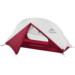MSR 2019 Hubba NX 1 Person Lightweight Hiking Tent - Cream/Red