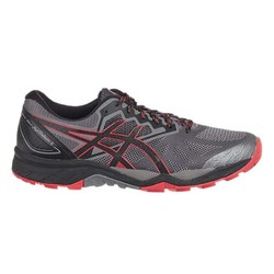 Asics Gel-Fuji Trabuco 6 Mens Trail Running Shoes - Carbon/Red Alert