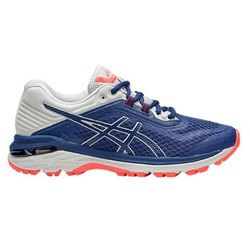 Asics GT-2000 6 Trail Womens Wide Trail Running Shoes (D) - Deep Ocean/Mid Grey