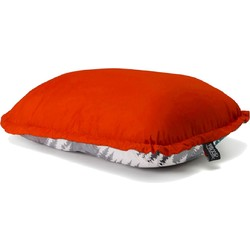 Grand Trunk Adjustable Puffy Travel Pillow - Bright Crimson