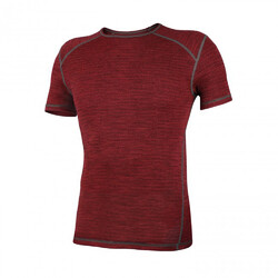 Wilderness Wear Merinofusion Light 160 Men's Short Sleeve Tee - Fusion Red Earth