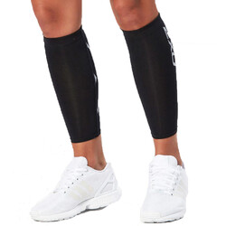 2XU Compression Unisex Calf Guards - Black/Black