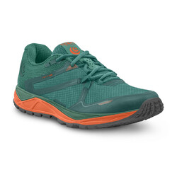 Topo Athletic MT-3 Womens Trail Running Shoes - Emerald/Orange