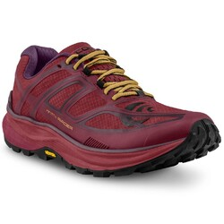 Topo Athletic Mountain Racer Womens Trail Running Shoes - Berry / Gold