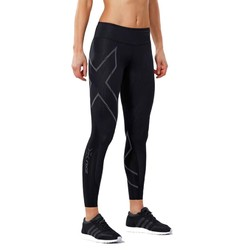2XU Womens MCS Run Compression Tights - Black/Nero Reflective