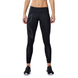 2XU MCS Run Womens Compression Tights - Blk/Brf