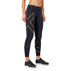 2XU MCS Run Womens Compression Tights - Blk/Grf