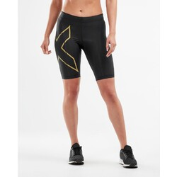 2XU MCS Run Womens Compression Shorts - Blk/Grf
