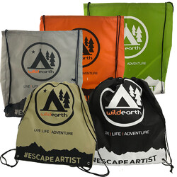 0e77212ceb9 Escape Artist Eco Drawstring Backpack