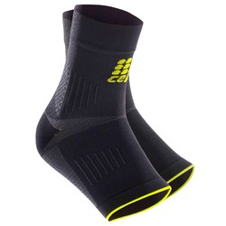 CEP Ortho Plantar Fasciitis Compression Sleeves - Black/Green