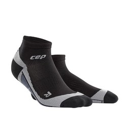 CEP Dynamic+ Low-Cut Womens Compression Socks - Black/Grey